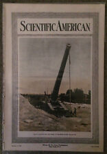WWI - 1917 Scientific American Magazine/Battleship/Submarine/Planes/Aviation