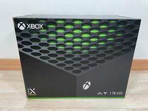 Xbox Series X Spielekonsole 1TB SSD Schwarz Sofort Lieferbar vom Händler Neu