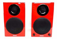AktiMate Micro Red 2-way 40watt Active Speaker System w/iPod & USB in, $500 List