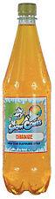 Cono de Nieve jarabe de naranja 1 Litro Botella Shave Ice, aguanieve