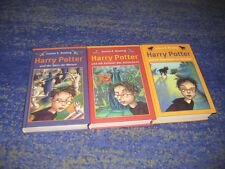 Harry Potter Büchersammlung mehrere Bänder komplett und gebunden Askaban usw.