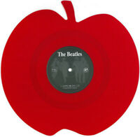 The Beatles – Love Me Do on Red Apple Shaped Vinyl Mischief Music 2013 NEW