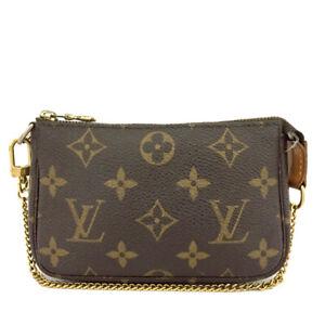 Louis Vuitton Monogram Mini Pochette Accessories Bag Porch /C0808