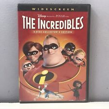 Disney The Incredibles Dvd 2-Disc Set Widescreen Collector's Edition Nearly New
