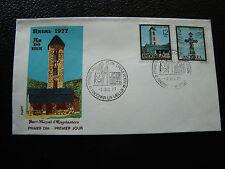 ANDORRE ESPAGNOL - enveloppe 1er jour 2/12/1977 (cy24) andorra