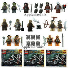 LEGO Lord of the Rings/Hobbit MINIFIGURE LOT GUNDABAD MORDOR MORIA URUK-HAI ORC