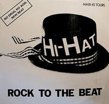 ++HI-HAT rock to the beat (3 versions) MAXI 1989 CARRERE RARE VG++