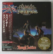 SPIDER - Rough Justice + 2 BONUS JAPAN SHM MINI LP CD OBI NEU! UICY-93855