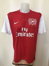 Arsenal London 2011/2012 Home Size XL Nike football shirt soccer jersey maillot