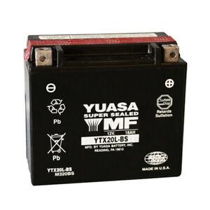 BATTERIA YUASA YTX20L-BS +CONF.  YAMAHA 1600 XV A WILD STAR 1999-2003