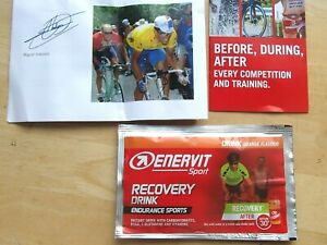 ENERVIT ORANGE FLAVOUR RECOVERY DRINK RECOMMENDED BY MIGUEL INDURAIN