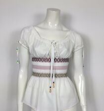 Marlboro classics camicetta maglia top usata vintage donna tg IT 46 hot T2327