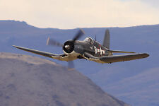 Giant 1/6 Scale American WW-II F4U Corsair Plans and Templates 82ws