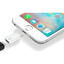 Adaptador Micro-USB a Lightning para Apple iPhone 5s 6 6S 7 iPad Mini Pro Plus
