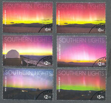 New Zealand-Southern Lights 2017 fine used -cto set 2017