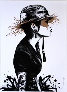 'Agent O' (bronze) by Fin DAC - Hand Finished. Float framed. Ltd Edition #21/25