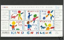 Nederland NVPH 2114 Vel Kinderzegels 2002 Postfris