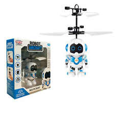 PXC Robot Aircraft Helicopter Flying Robot Toy Mini Drone Infrared Induction