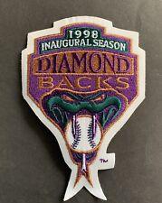 1998 Arizona Diamondbacks Inaugural Season MLB Authentic Sleeve Patch