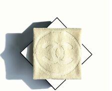 Chanel Beauty IVORY Washcloth Bath Towel Face Towel 39 x 39cm