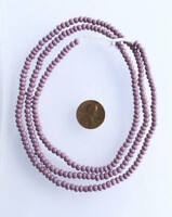 Vintage Opaque purple African glass beads Ghana Trade Beads