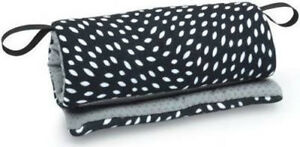 GO By Goldbug Carrier Handle Cushion Black with White Almond Shaped Design NEW