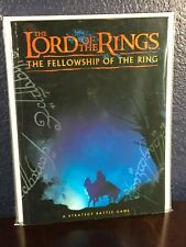 Lord of the Rings A STRATEGY BATTLE ROLEPLAYING GAME Fellowship Games Workshop
