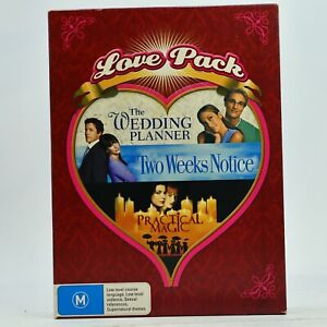The Wedding Planner / Two Weeks Notice / Practical Magic 3-Movie Pack DVD
