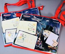 MONOPOLY WORLD CHILDREN AMENITY KIT BAG x2 - QATAR BAG BRITISH AIRWAYS *RETIRED*