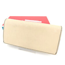 Marc By Marc Jacobs Wallet Purse Black Beige Woman unisex Authentic Used Y7420