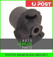 Fits TOYOTA RAUM NCZ20 2003-2011 - Rubber Suspension Bush Rear Arm