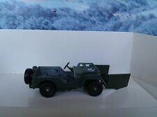 1/43 Solido Military (France)   Jeep blindee US army  #6122