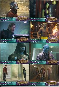 2014 MARVEL GUARDIANS OF THE GALAXY COMPLETE TRADING 90 CARD SET Upper Deck
