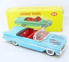 Matchbox Dinky Toys 1:43 CHEVROLET IMPALA 1959 OPEN TOP Blue Car Code-2 014 MIB!