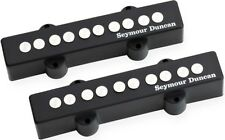 Seymour Duncan SJ5-3s Quarter-Pound 5-String J-Bass Bridge/Neck Pickup Set, NEW!