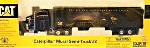 Norscot 55084 Caterpillar Mural Semi-Truck #2 Challenger 1/64 Die-cast MIB