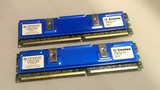 Centon 1GB 512MBx2 PC3200 Desktop PC RAM Memory CUSTOM ANODIZED HEAT SPREADERS