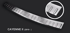 Porsche Cayenne 2nd Generation 2011-2014 Stainless Steel Rear Bumper Protector