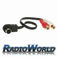 Alpine Ai-Net Aux Input Cable Adapter iPod/iPhone MP3 Gold Plated Phono KCA-121B