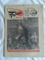 Die Neue Fußball-Woche, Nr. 25, 14. Jahrgang, DDR-Zeitung 1962, Fu-Wo