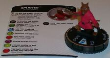 SPLINTER #019 #19 Teenage Mutant Ninja Turtles Series 2 HeroClix Rare