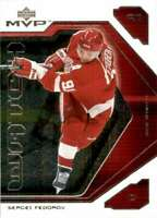 2001-02 Upper Deck MVP Watch Sergei Fedorov #MW5 130156