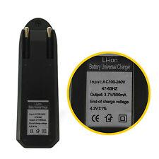 Universal Neu Ladegerät Charger für 3.7V Lithium-Ionen Akku 16340 / 18650 Neu