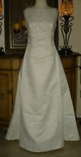 Embroidered Low Price Scott McClintock Ivory Wedding Dress Beaded Strapless 6