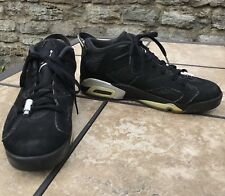 Nike Air Jordan VI 6 Retro Low Chrome 304401-003 Mens Size 11 Shoes Black