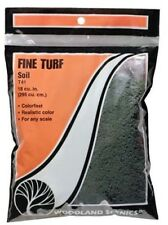 Woodland Scenics' T41 Turf Fine Soil Bag All Scale Model Trains