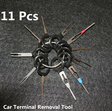 11PC Car Terminal Removal Tool Kit Wiring Connector Extractor Puller Release Pin