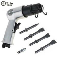 Heavy Duty Air hammer w/ 4pcs chisel kits for Chipping Riveting Cutting Piercing