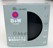 B+W 67mm XS-Pro Digital Variable Neutral Density ND Vario MRC Nano Filter 67 mm