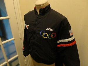 Vtg 1999 Tour Olympic World Figure Skating Champions USA Sewn Coat Size XS 36-38